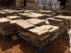 Reclaimed york flagstone