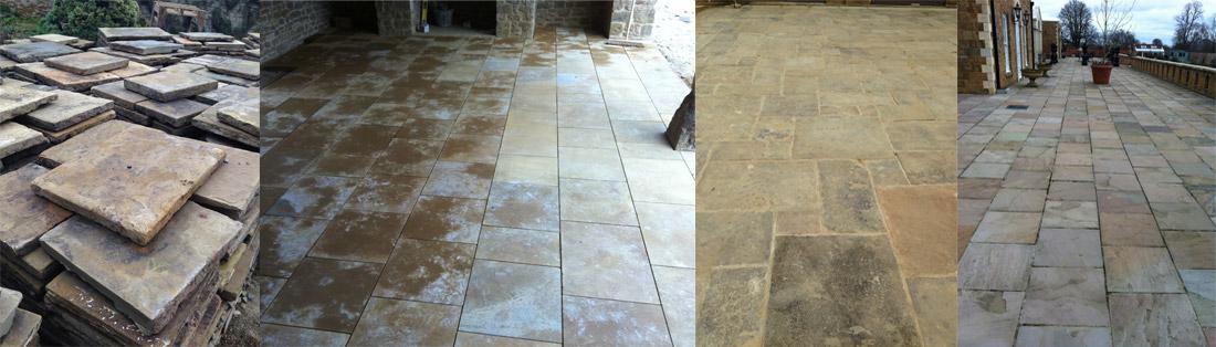 flagstone flooring